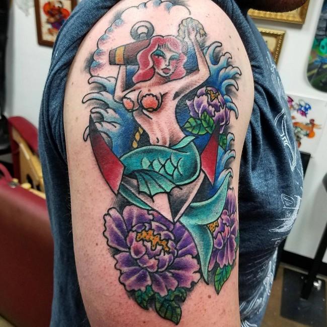mermaid tattoo (12)