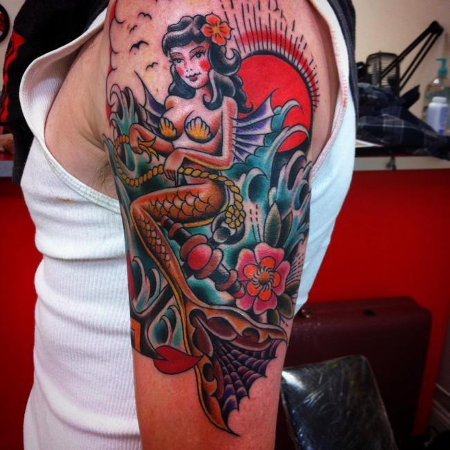 mermaid tattoo (6)