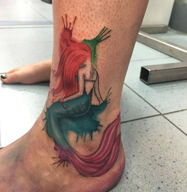 mermaid tattoo (7)