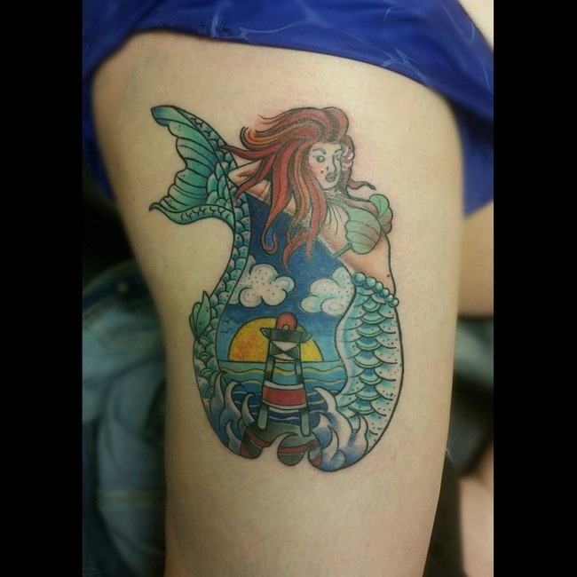mermaid tattoo (8)