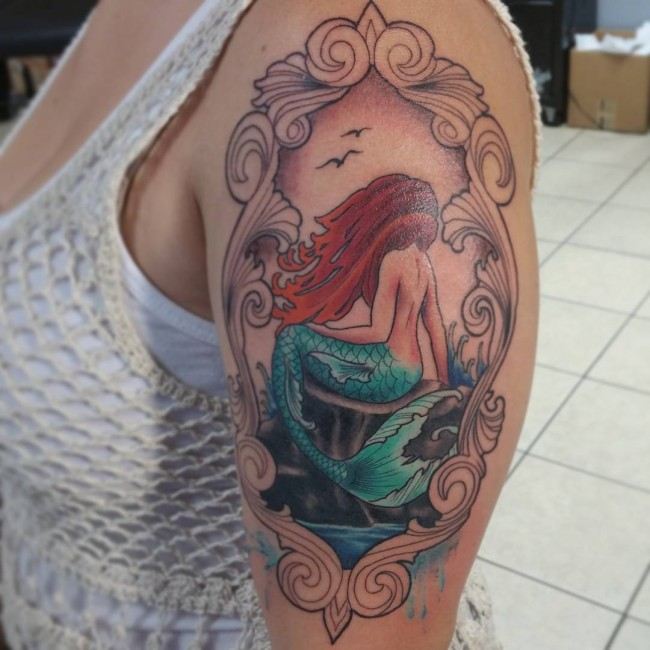 mermaid tattoo (9)