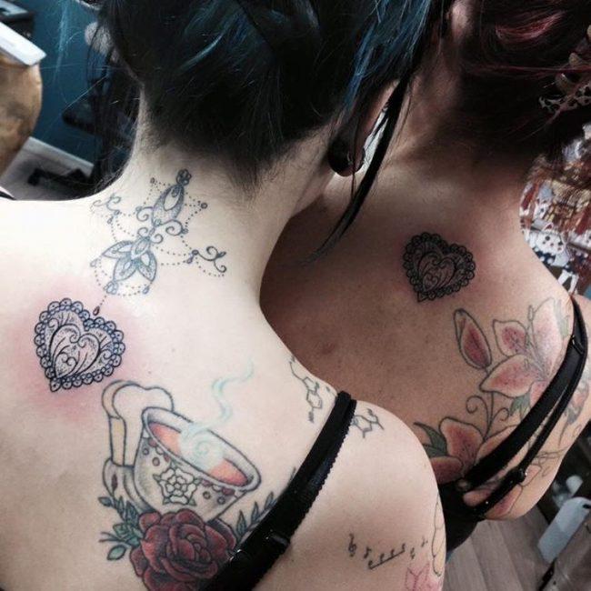 mother daughter tattoos