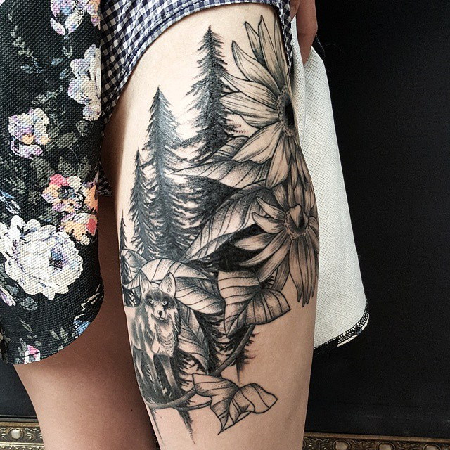 nature tattoo