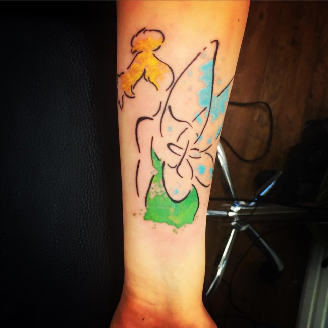Peter Pan Tattoos