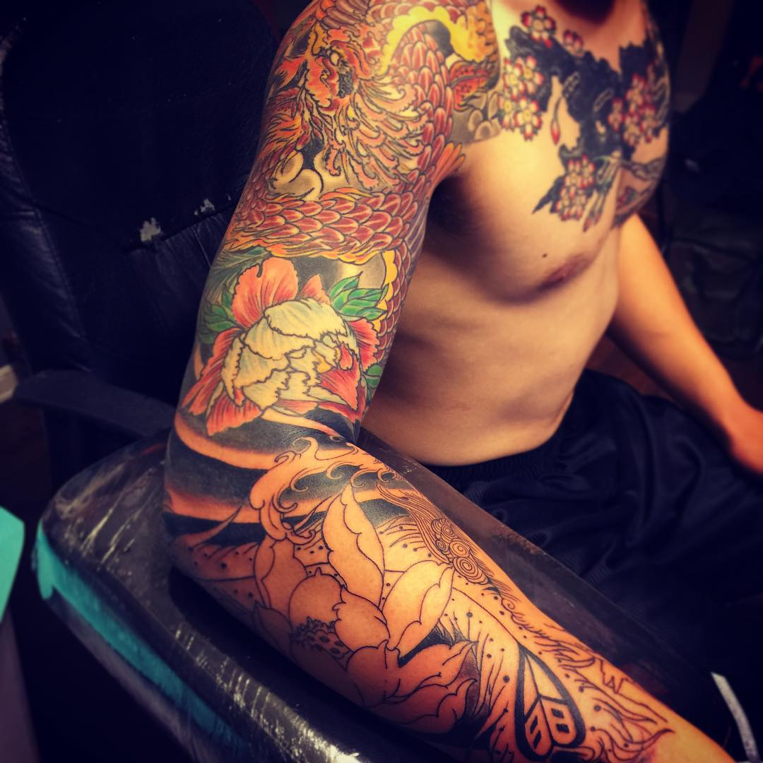 80+ Best Phoenix Tattoo Designs & Meanings - Mysterious ...