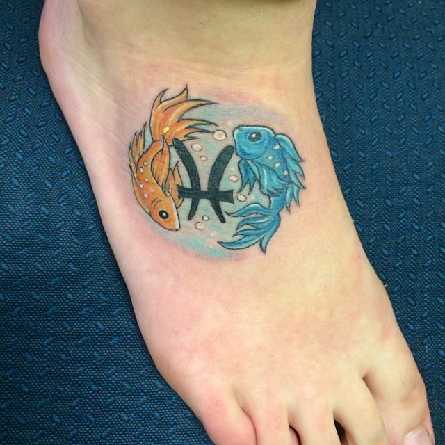 Pisces tattoos