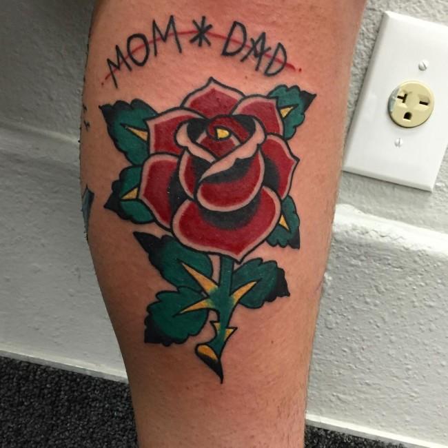 sailor Jerry's tattoos