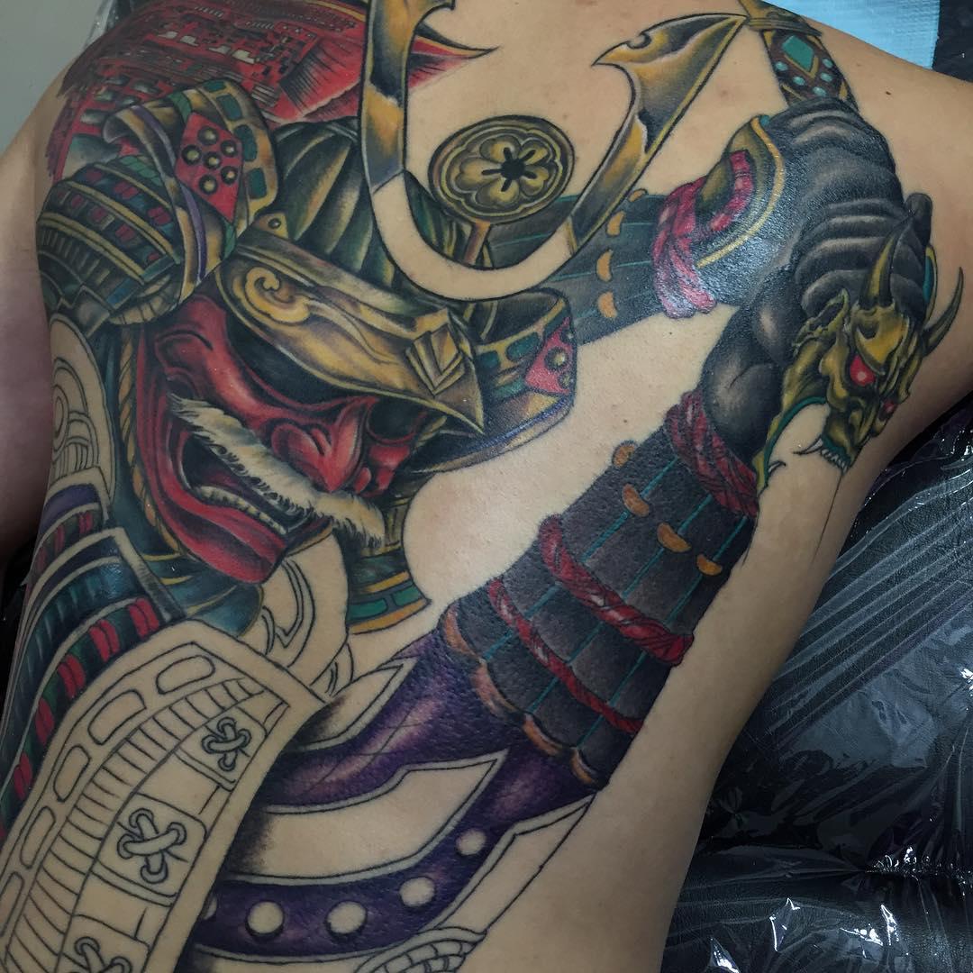 Tattoo Designs Japanese: 75+ Best Japanese Samurai Tattoo