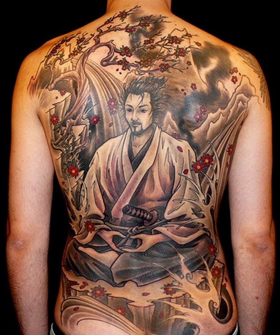 75 best japanese samurai tattoo designs meanings 2018 for Oriental tattoo