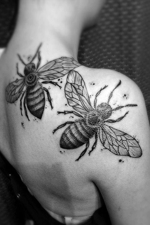 Shoulder Blade Tattoo