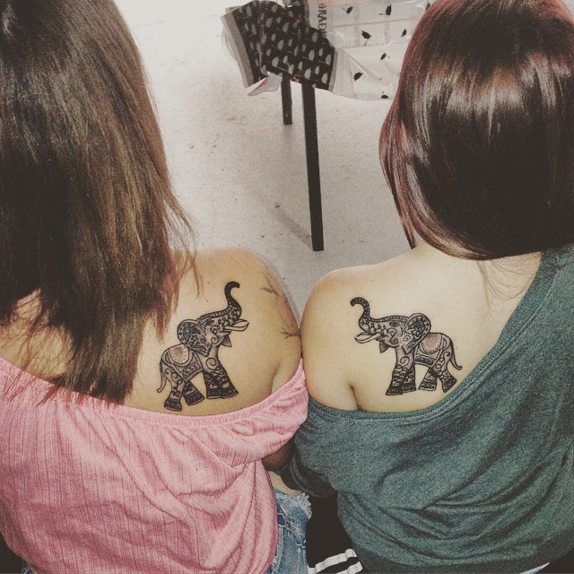 30 Adorable Sister Tattoos
