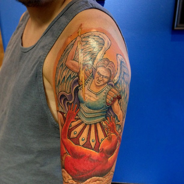 20 Protecting St. Michael Tattoos