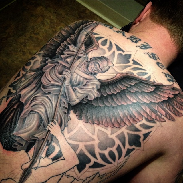 St. Michael tattoos