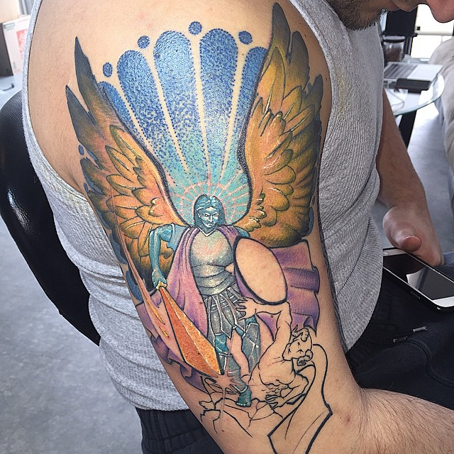 St. Michael tattoos