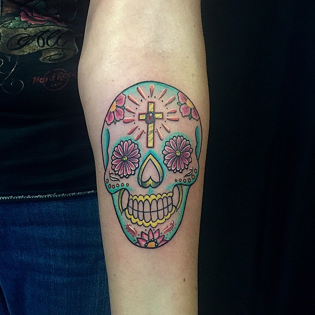 60 best sugar skull tattoo designs meaning