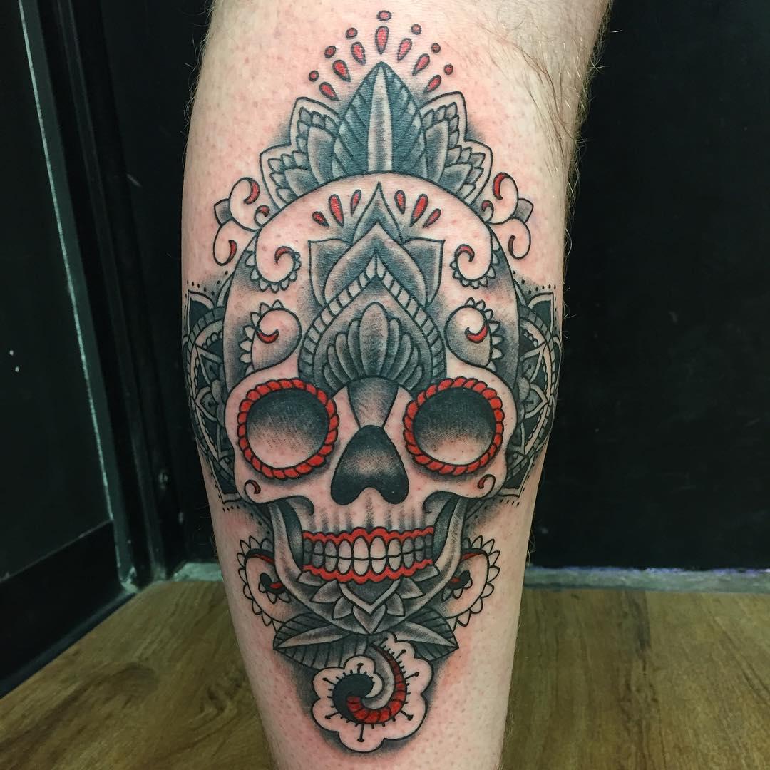 125+ Best Sugar Skull Tattoo