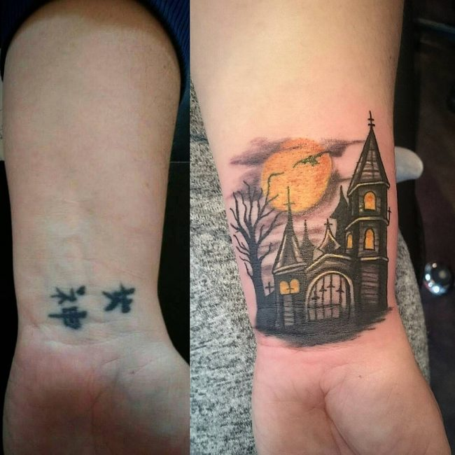 55+ Best Tattoo Cover Up Designs & Meanings