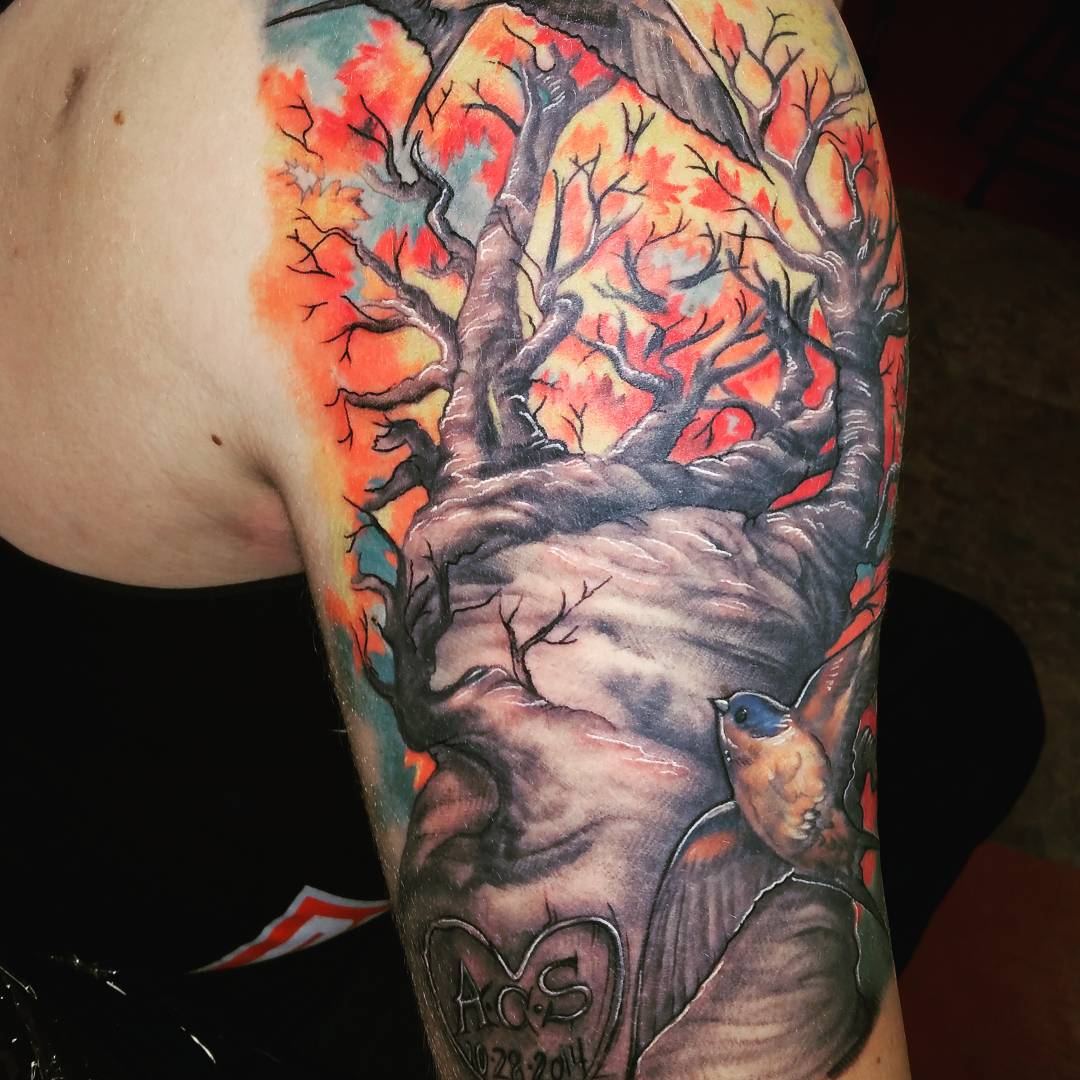 85+ Best Tree Tattoo Designs & Meanings
