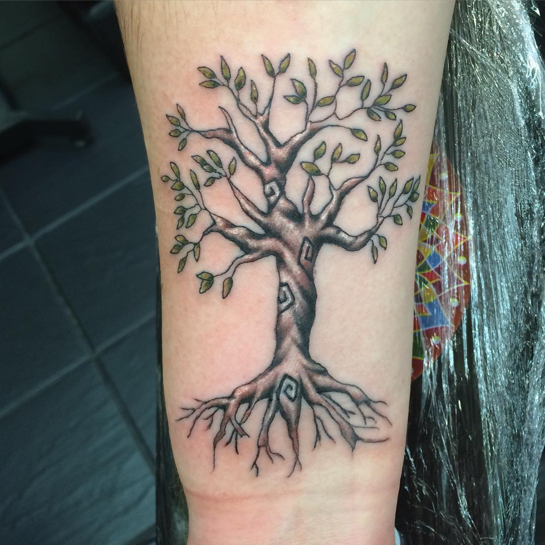 Family Tree Tattoo Ideas: 85+ Best Tree Tattoo Designs & Meanings