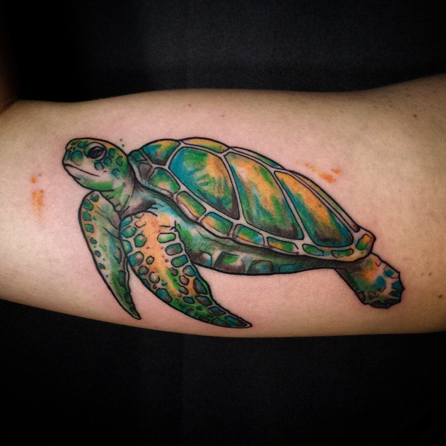 20 Turtle Tattoos And Turtle Tattoo Meanings - MagMent