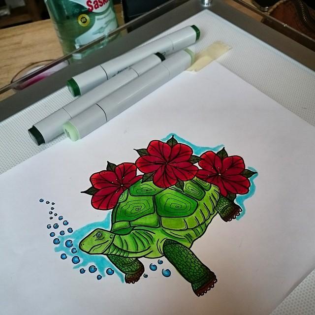 Turtle Tattoos