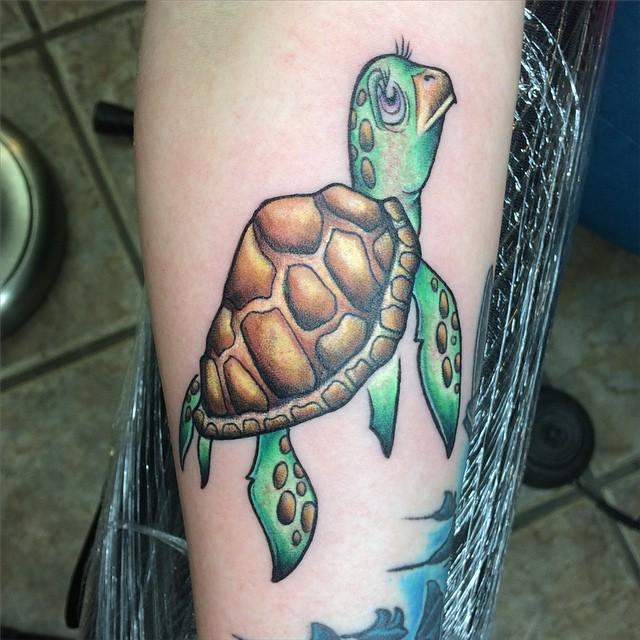 Turtle Tattoo Meaning: 65 Sea Turtle Tattoo