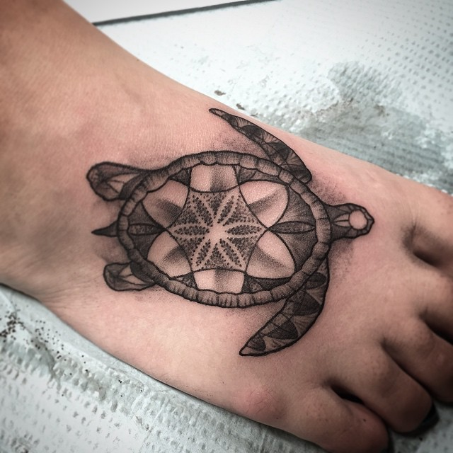 65 sea turtle tattoo. Black Bedroom Furniture Sets. Home Design Ideas