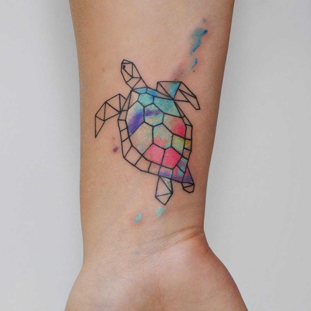 79 Turtle Tattoo Designs That Make a Splash