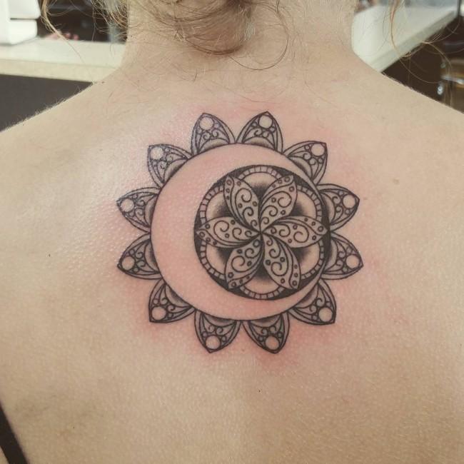 upper back tattoo