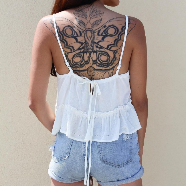 upper back tattoo