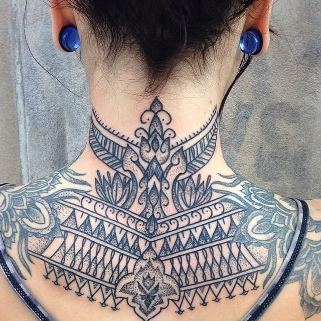 60+ Best Upper Back Tattoos Designs & Meanings