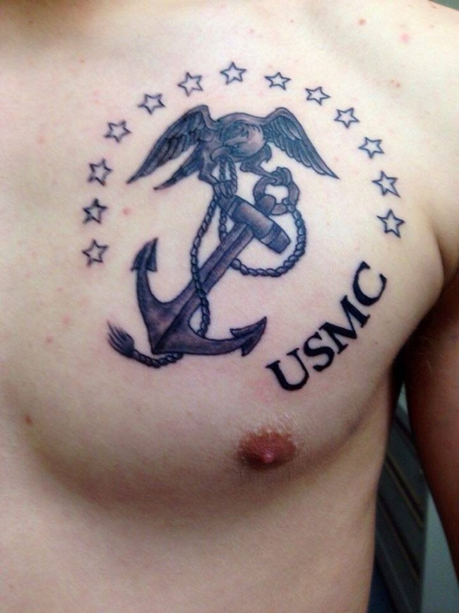 75 Cool USMC Tattoos - Meaning, Policy and Designs