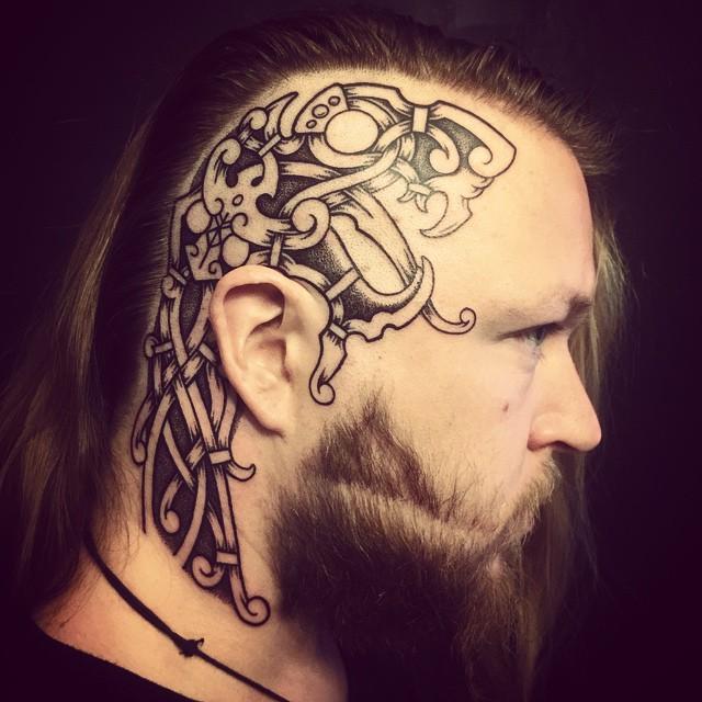 Viking tattoo 270+ Traditional