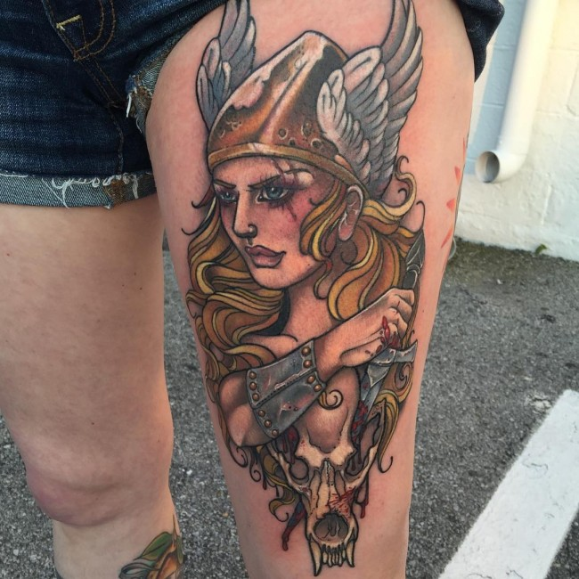 50 exceptional viking tattoo designs for Did vikings have tattoos