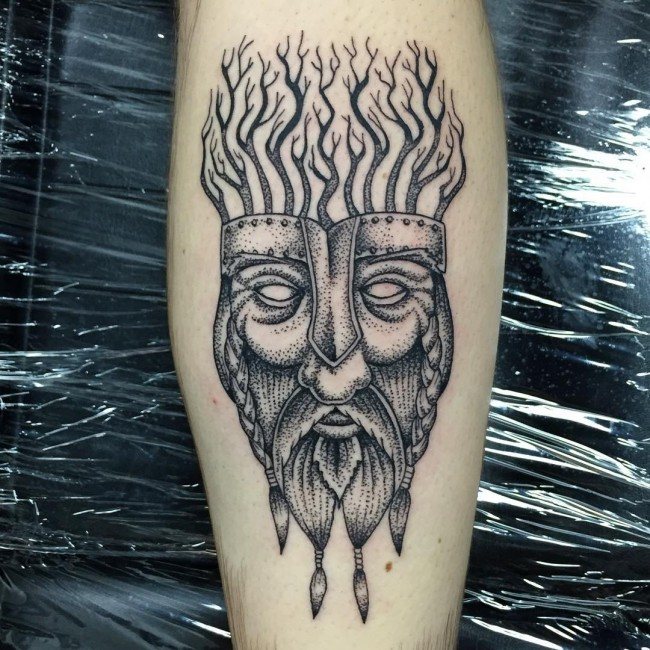 Viking tattoo