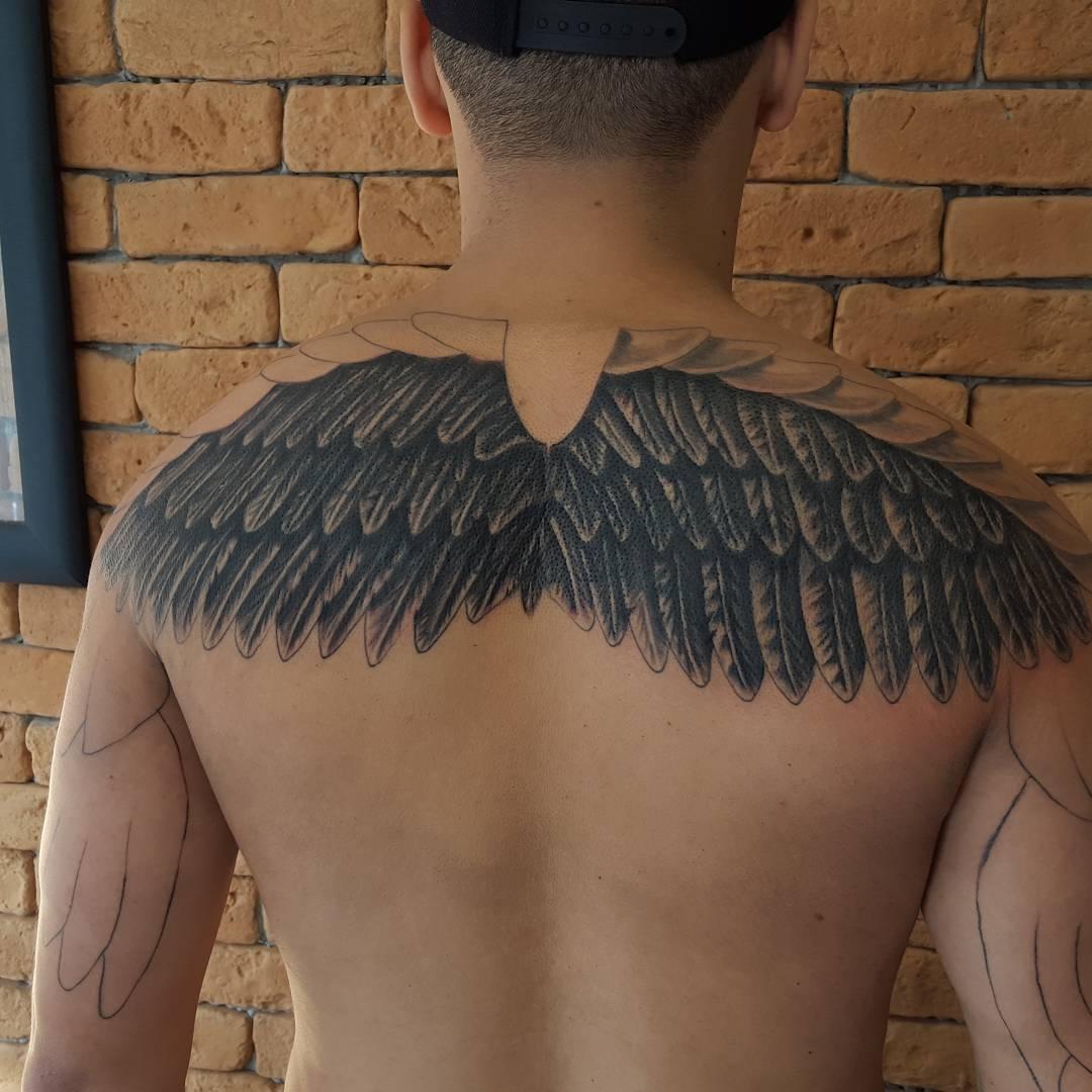 65 Best Angel Wings Tattoos Designs Meanings Top Ideas 2018
