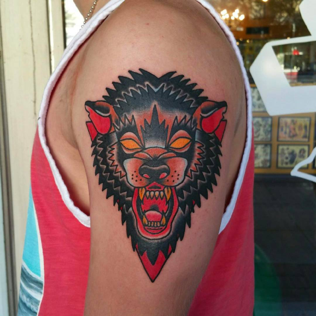 Designs Meanings 2019: 95+ Best Tribal Lone Wolf Tattoo Designs & Meanings (2019