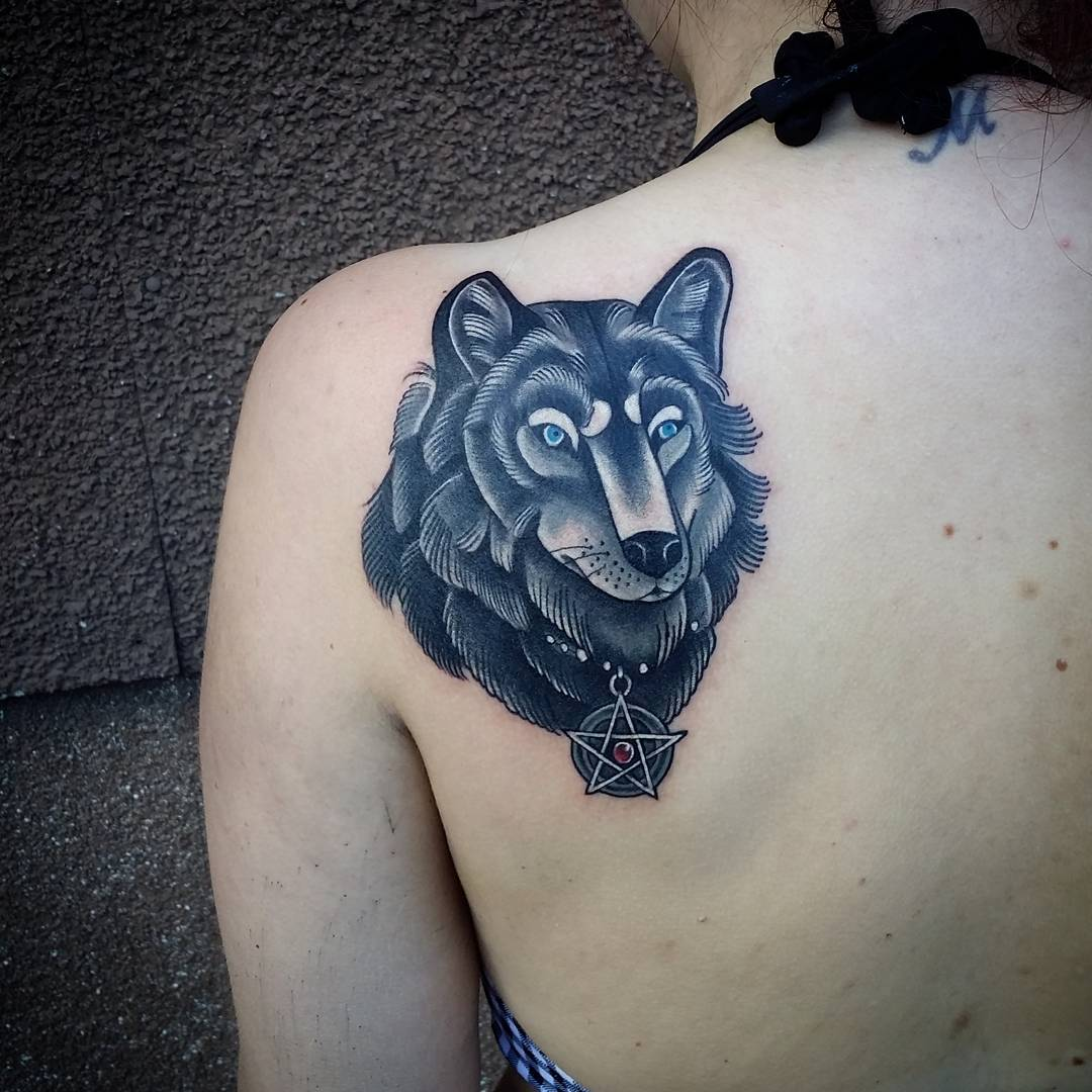 46 Unique Wolf Head Tattoos Ideas: 95+ Best Tribal Lone Wolf Tattoo Designs & Meanings (2019