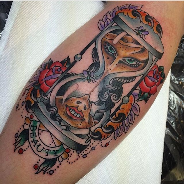 hourglass-tattoo