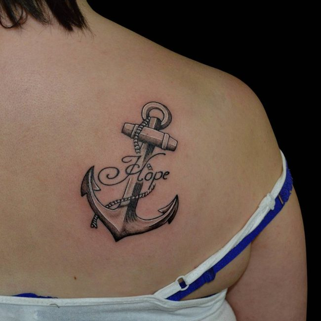 95 Best Anchor Tattoo Designs Meanings Love Of The Sea 2019