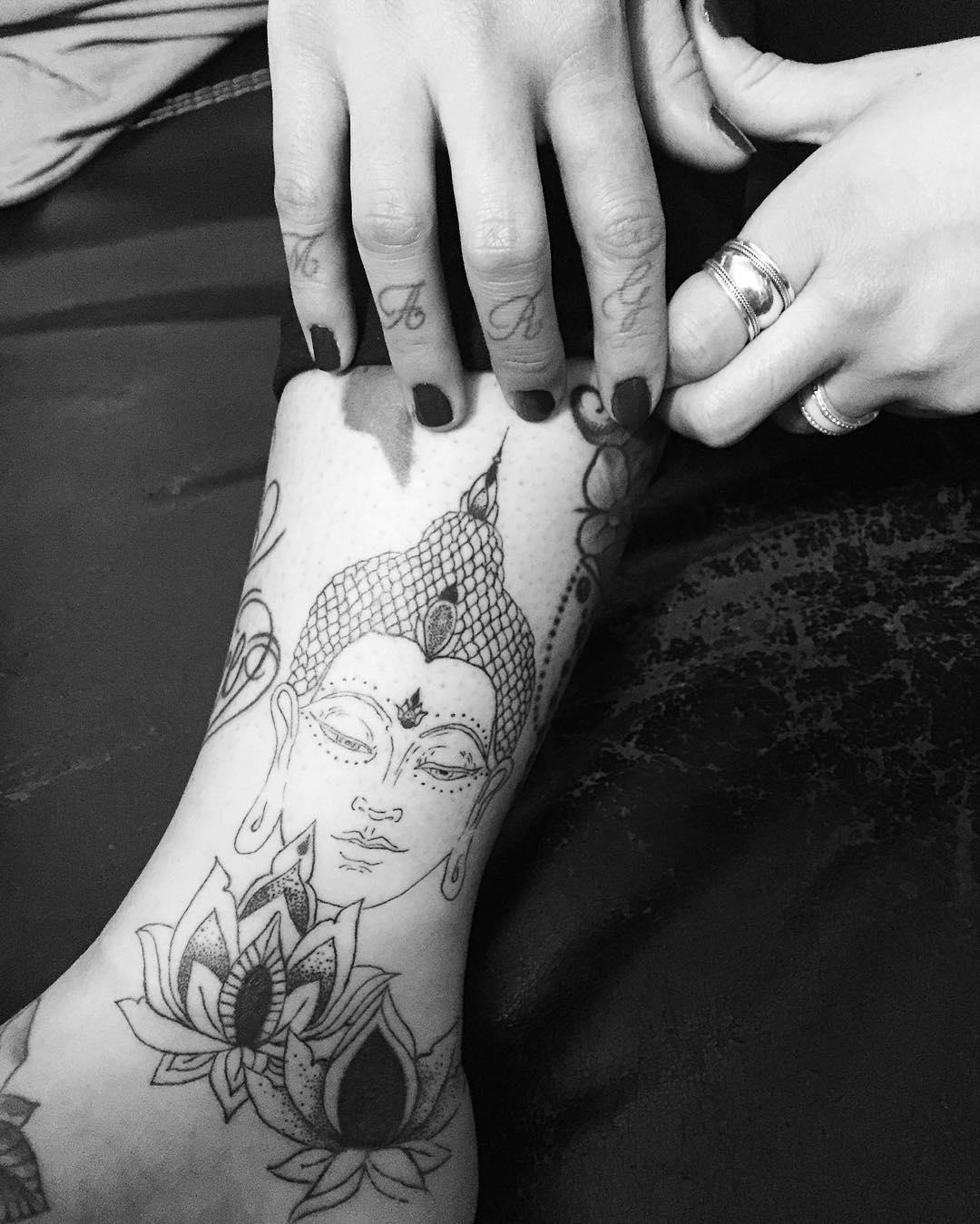 Buddhist Elephant Tattoo Meaning: 130+ Best Buddha Tattoo Designs & Meanings