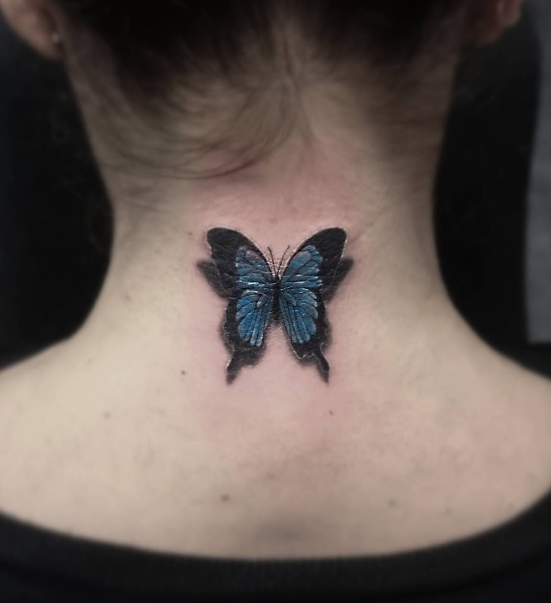 110 best butterfly tattoo designs meanings cute for Koi papillon