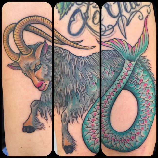 Capricorn tattoos