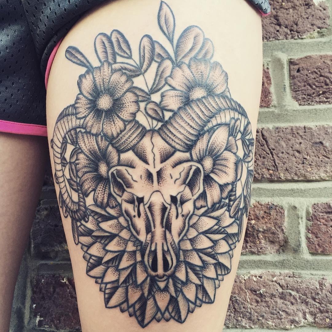 Capricorn Tattoo Design: 30 Cool Capricorn Tattoo Designs And Ideas