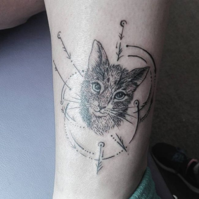 Cat Tattoo_