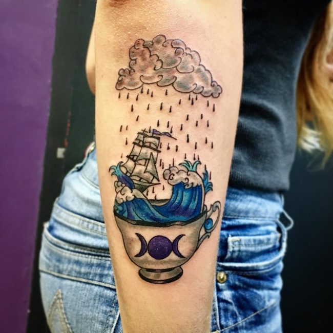 Cloud Tattoo