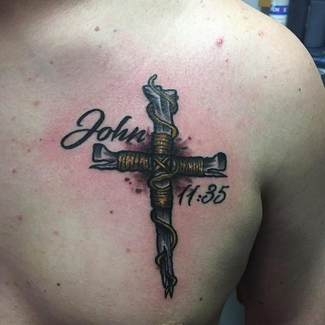 Cross Tattoo_
