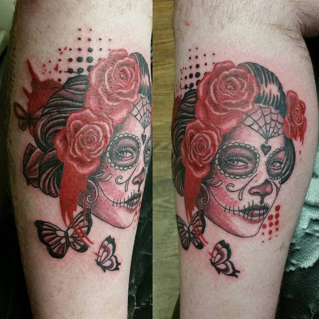 Day of the Dead Tattoos_