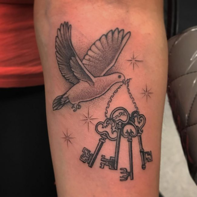 75 Dove Tattoo Designs And Symbolic Meaning Peaceharmony 2018