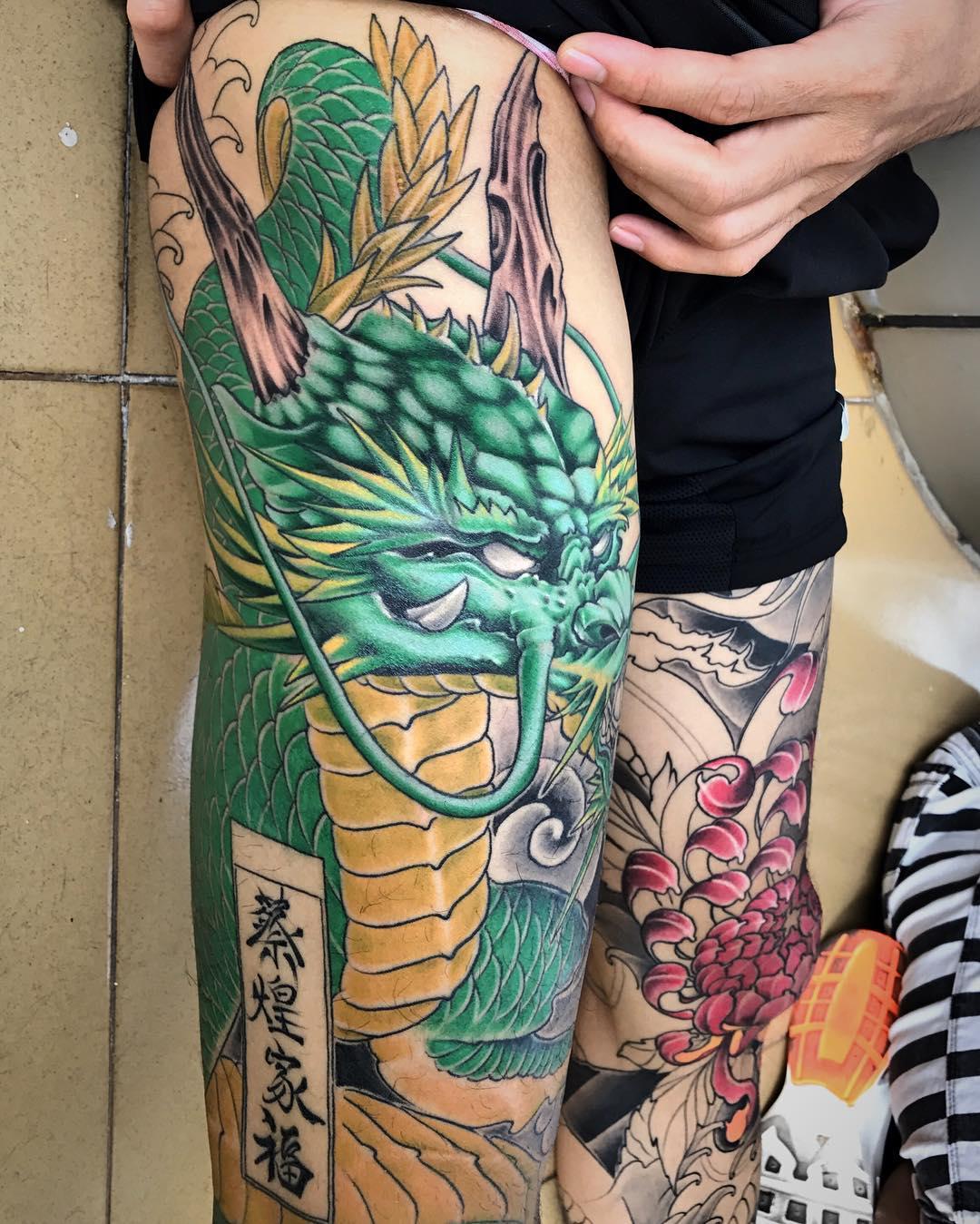 Tattoo Designs Unique: 75+ Unique Dragon Tattoo Designs & Meanings